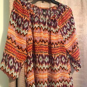 Daisy Fuentes. L. Multicolored. Super soft!